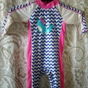 Coolibar Baby Suit UPF 50+ Size 6-12 months